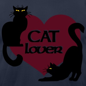 Cat Lover Shirts Men's Cat Lover T-Shirts - Men's T-Shirt by American Apparel