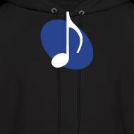 Design ~ Blue Music Emblem Hoodie