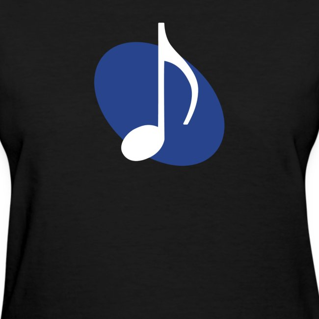 Blue Music Emblem (Women's)