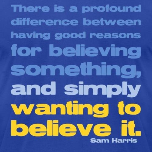 Sam Harris - Good Reasons For Believing