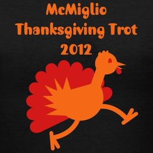 McMiglio Thanksgiving Trot 2012 - Women's V-Neck T-Shirt
