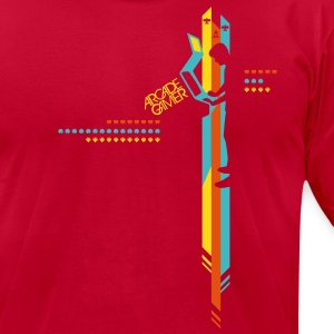 ArcadeGamer T-Shirts - Men's T-Shirt by American Apparel