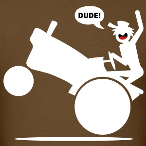Tractor Wheelie T-shirt - Men's T-Shirt