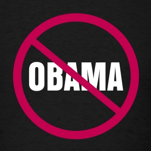 Nobama Obama T-Shirts - Men's T-Shirt