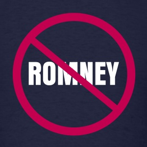 NO ROMNEY RYAN T-Shirts - Men's T-Shirt