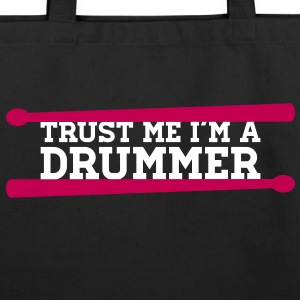 I am A Drummer Bags  - Eco-Friendly Cotton Tote