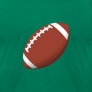 Football: T-Shirt - Men's T-Shirt by American Apparel