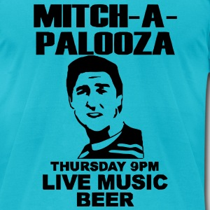 mitchapalooza T-Shirts - Men's T-Shirt by American Apparel