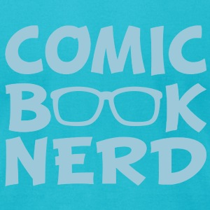 Comic Book Nerd - Men's T-Shirt by American Apparel