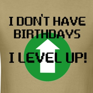 Birthdays - Men's T-Shirt