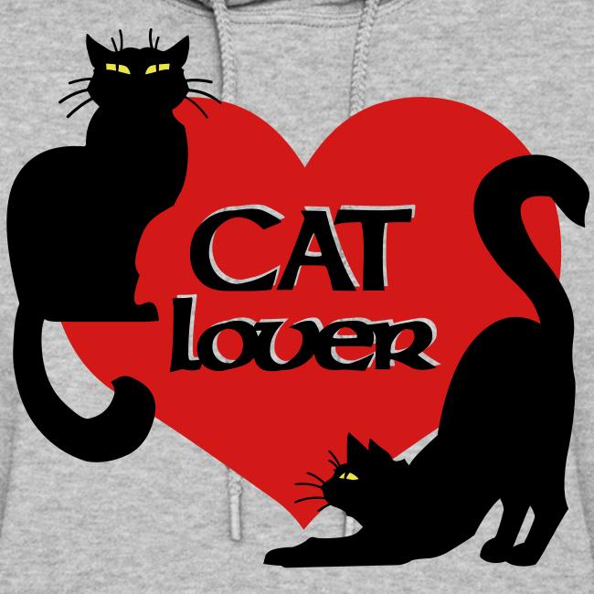Cat Lover Hoodie Women's Cat Sweatshirt