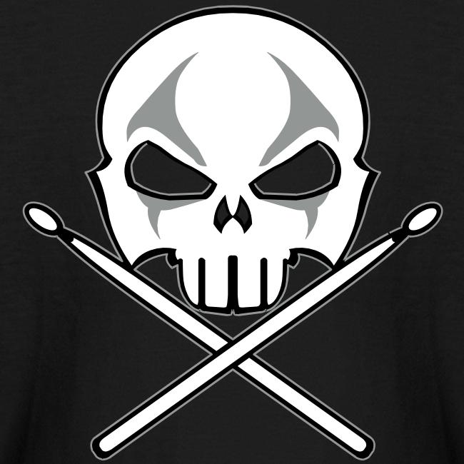 Rock and Roll Drummer Shirt Kid's Heavy Metal Drummer T-shirt
