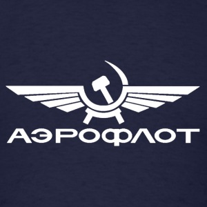 Aeroflot t-shirt - Men's T-Shirt