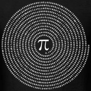 The number Pi pai constant - Men's T-Shirt