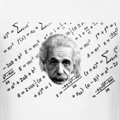 Albert Einstein T-shirt formula