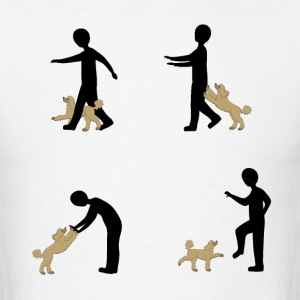 Dog Dancing 2 T-Shirts - Men's T-Shirt