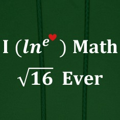 i_lne_love_math_4_ever Hoodies