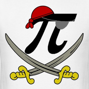 Pi Pirate - Men's T-Shirt