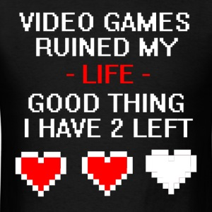 Video Games Ruined My Life - Men's T-Shirt