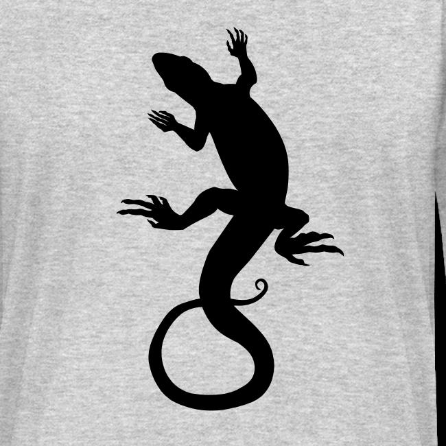 Lizard Art Shirt Men's Reptile Long Sleeve Shirts