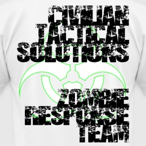 Civilian Tactical Solutions Zombie Response Team W - Men's T-Shirt by American Apparel