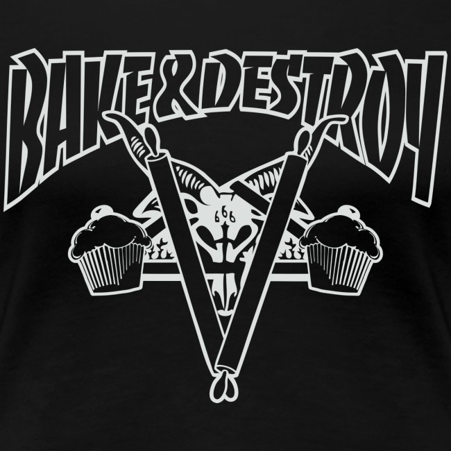 Goat and Destroy Slim Fit T-shirt