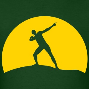 Usain Bolt sunset - Men's T-Shirt