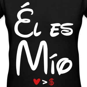 el_es_mio - Women's V-Neck T-Shirt
