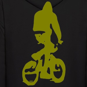BMX Chill Ride Back - Men's Hoodie