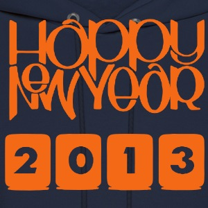 HAPPY NEW YEAR 2013 Hoodies - Men's Hoodie