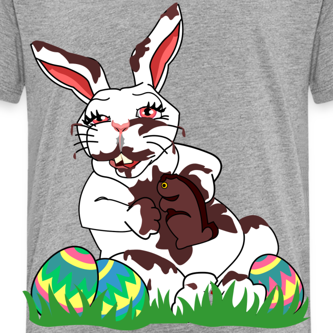Souvenirs and gifts by kim hunter collection funny easter bunny funny easter bunny t shirts toddlers negle Image collections