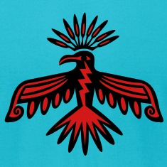 Thunderbird - Native Symbol / Totem T-Shirts