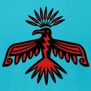Thunderbird - Native Symbol / Totem T-Shirts - Men's T-Shirt by American Apparel