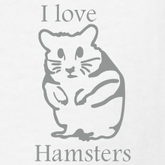 hamster_i_love_hamsters Kids' Shirts