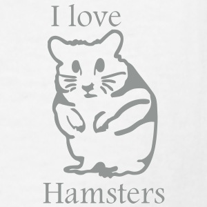 hamster_i_love_hamsters Kids' Shirts - Kids' T-Shirt