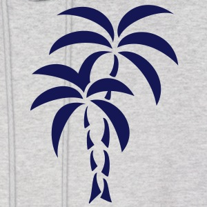 Palm Tree / Tattoo Style / Vector / Hoodies - Men's Hoodie
