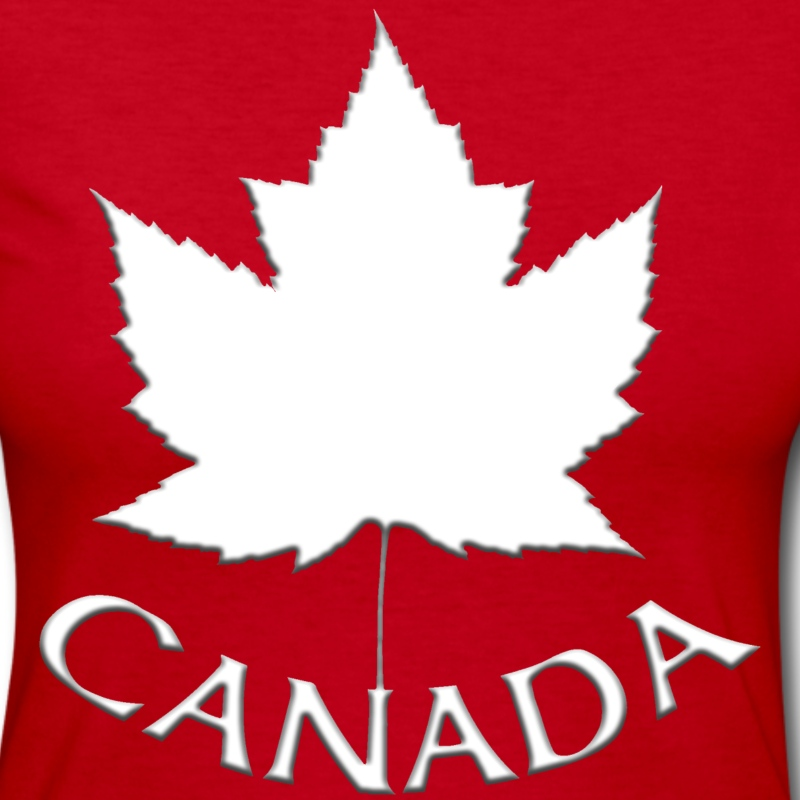 Women's Canada Jersey Shirt Long Sleeve Ladies T-s - Women's Long Sleeve Jersey T-Shirt