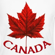 Women's Canada Jersey Shirt Maple Leaf Souvenir Sh
