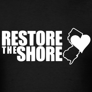 Restore the Shore - Men's T-Shirt