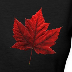 Women's Canada T-shirt Souvenir Canadian Maple Lea - Women's V-Neck T-Shirt