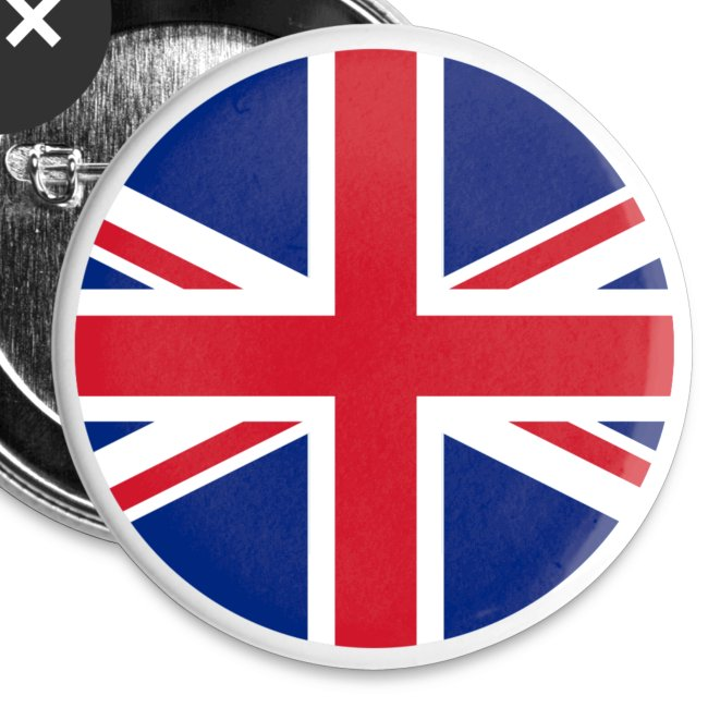 UK Pacific Roundel Badge Pin