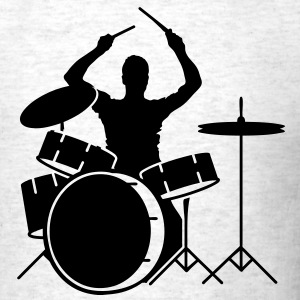 A drummer and drums T-Shirts - Men's T-Shirt
