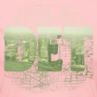 Design ~ Detroit Skyline Map