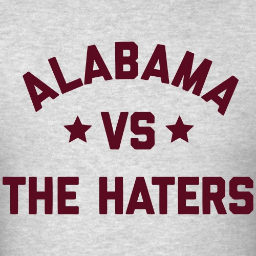 Alabama vs. the Haters