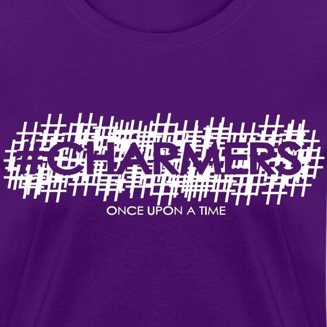 Original #Charmers Tee - White Ink