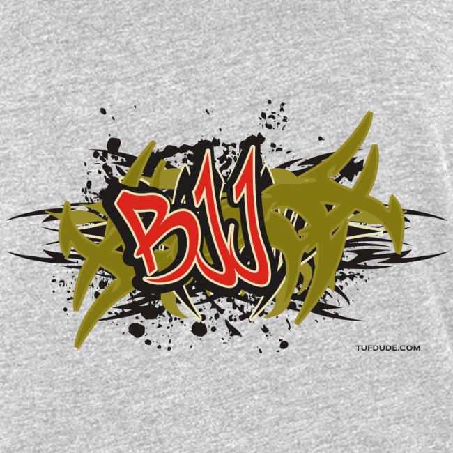 Jiu Jitsu - BJJ Graffiti Women's Tank Top