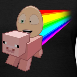 An Egg's Guide to Minecraft! - Women's V-Neck T-Shirt