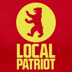 Local Patriot Bear Long Sleeve Shirts
