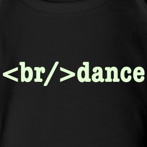 breakdance HTML Code Baby & Toddler Shirts - Short Sleeve Baby Bodysuit