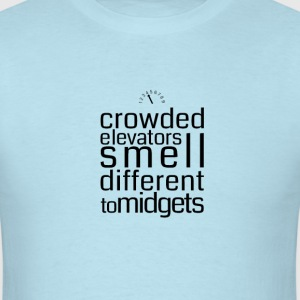Crowded elevators - Men's T-Shirt